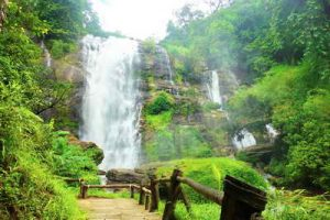 wachirathan waterfall, chiang mai sightseeing